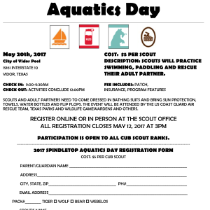 2017_Aquatics_Day_Flyer_Spindletop_District