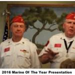 Marine of the Year 2016
