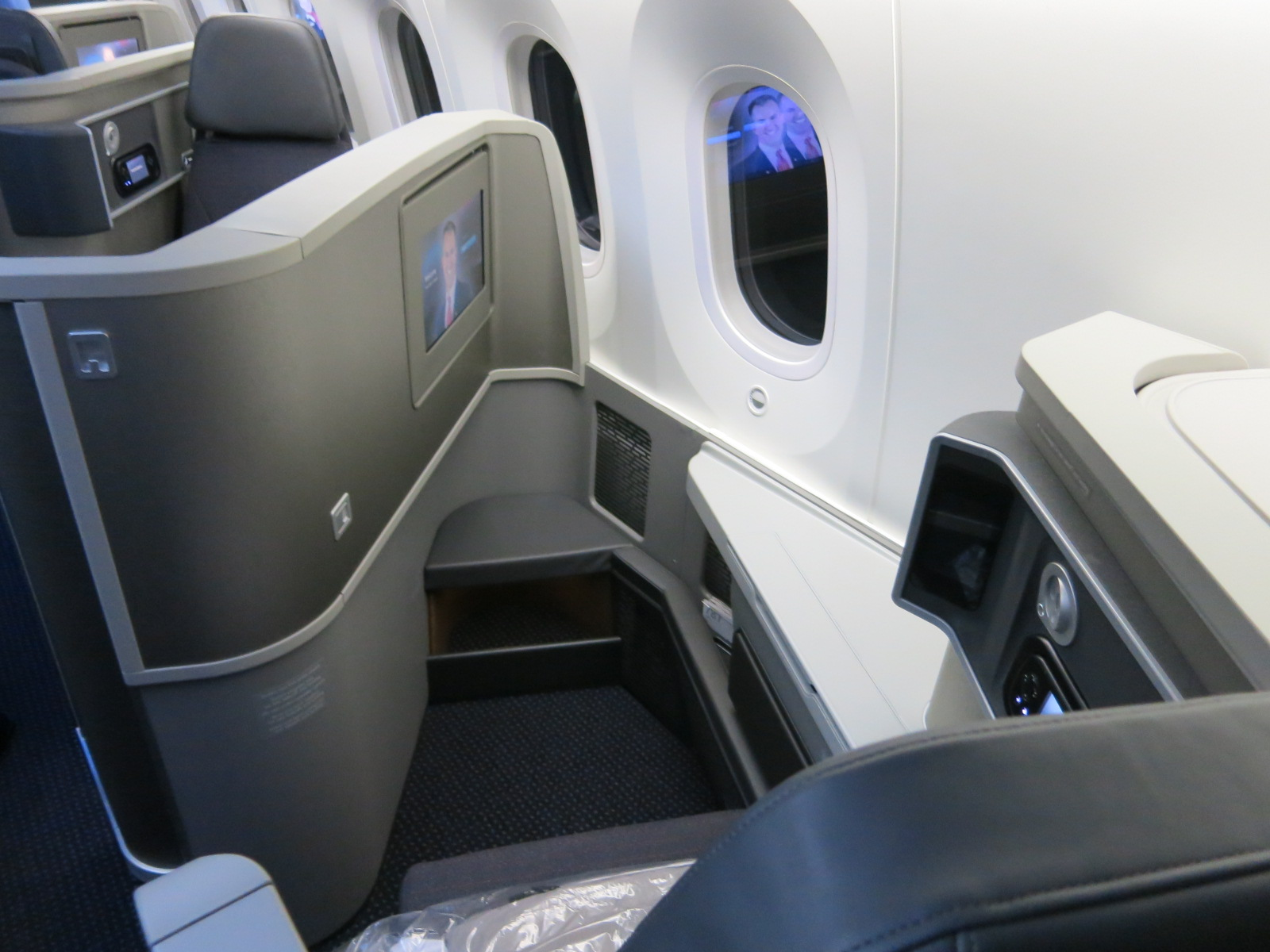 Review American 787 Business Class