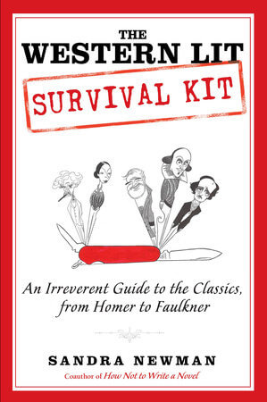 Book Talk: *The Western Lit Survival Kit*, by Sandra Newman (TLC Book Tour)