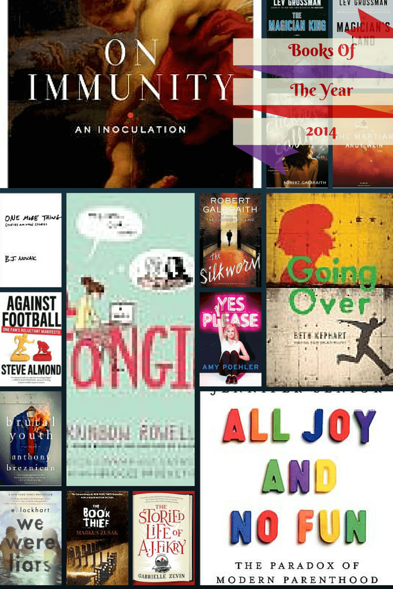 2014 In Review: Books of the Year!