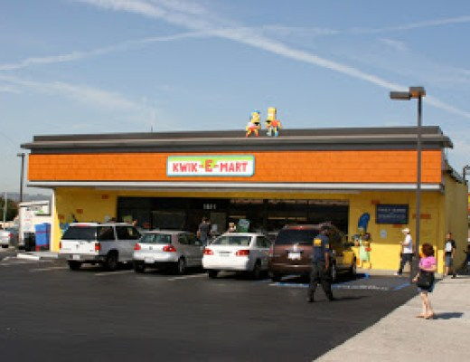 A Kwik-E trip, or Spring(field) Comes to Burbank