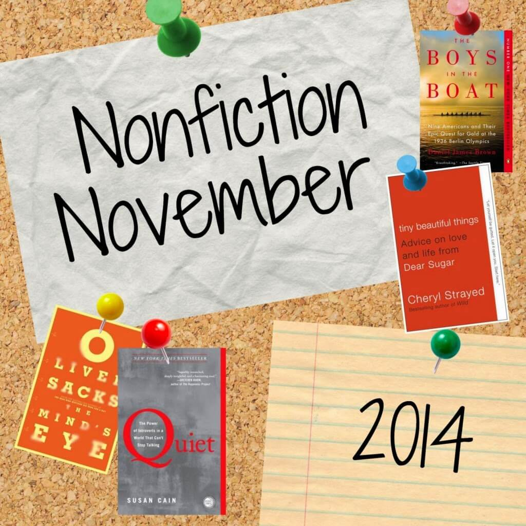#NonfictionNovember Q&A: My Year in Nonfiction