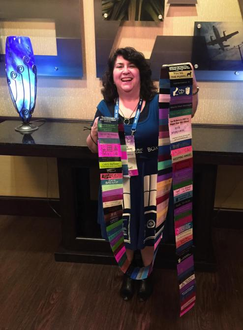 convention ribbons gallifrey one 2016