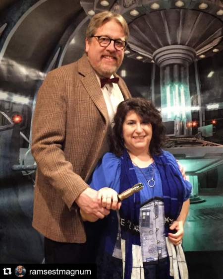 eleventh doctor lady tardis gallifrey one 2016