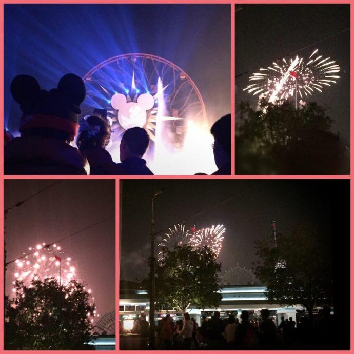 fireworks world of color disneyland