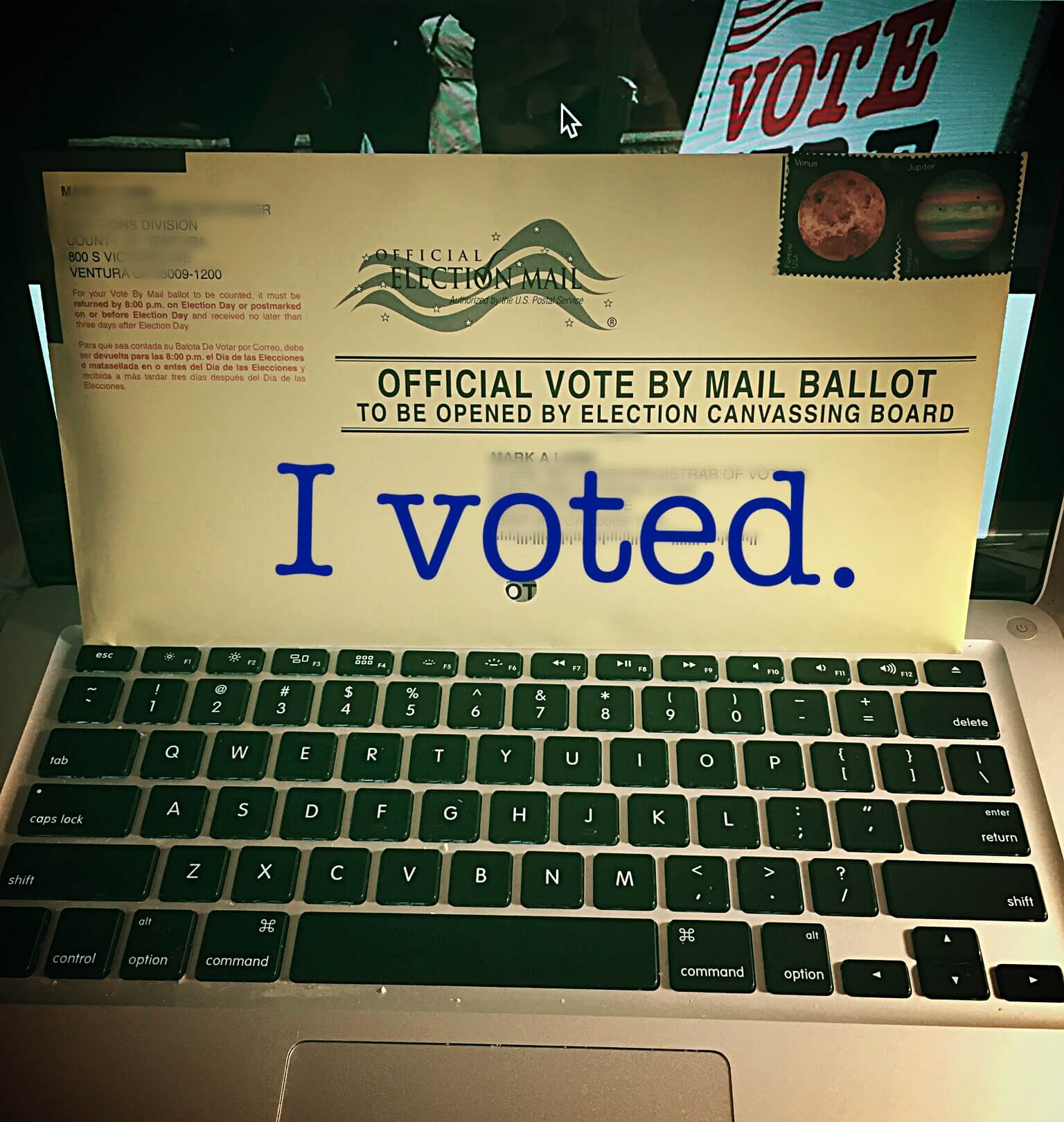this is how I vote 2016