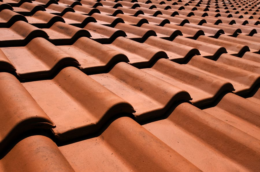 slate or tiles for pitched roofs