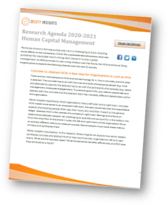 3Sixty Insights | HCM Research Agenda 2021