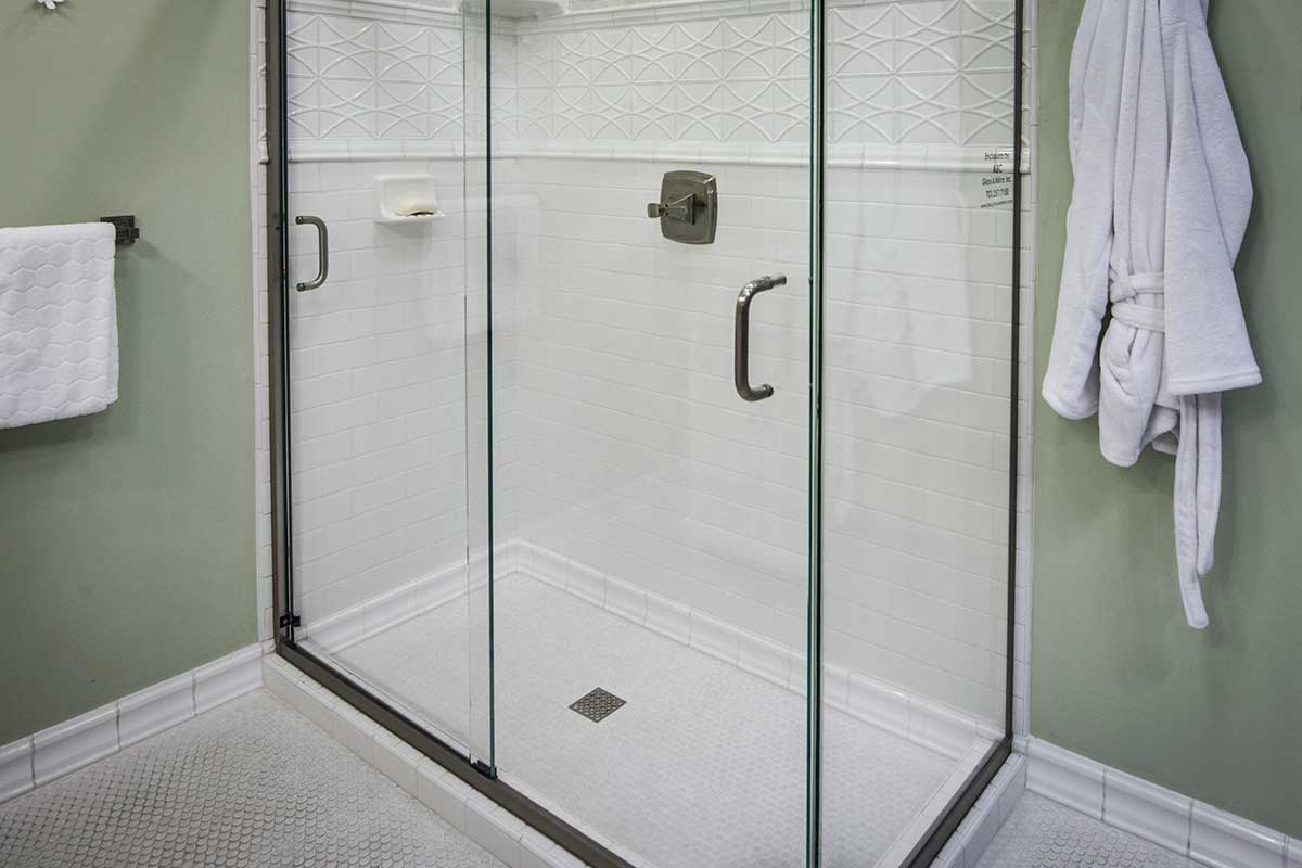 Semi Frameless Glass Shower Doors Enclosures Abc Glass
