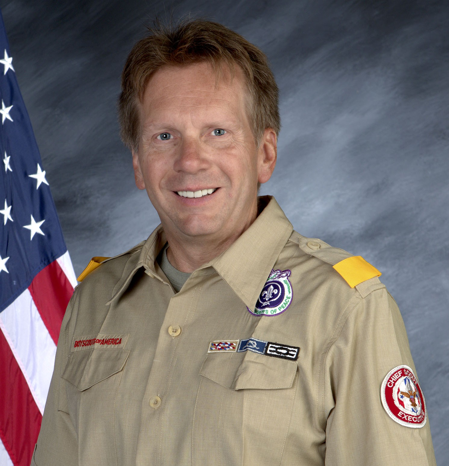 Image result for The Head of the Boy Scouts