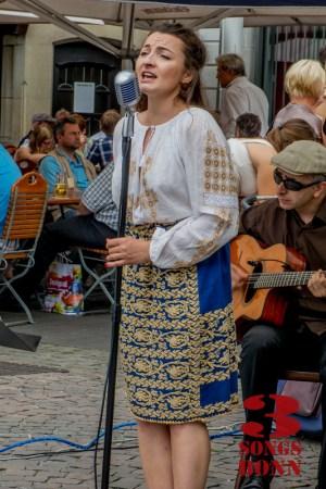 Bukarest Boheme with Ana Maria at Markt Platz