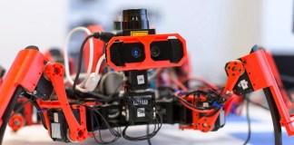 روبوت تركي على شكل عنكبوت لإبطال مفعول المتفجرات واستشعار المخاطر الكيميائية