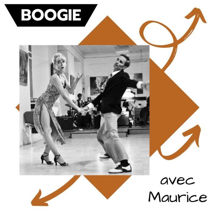 Stage de Boogie avec Maurice