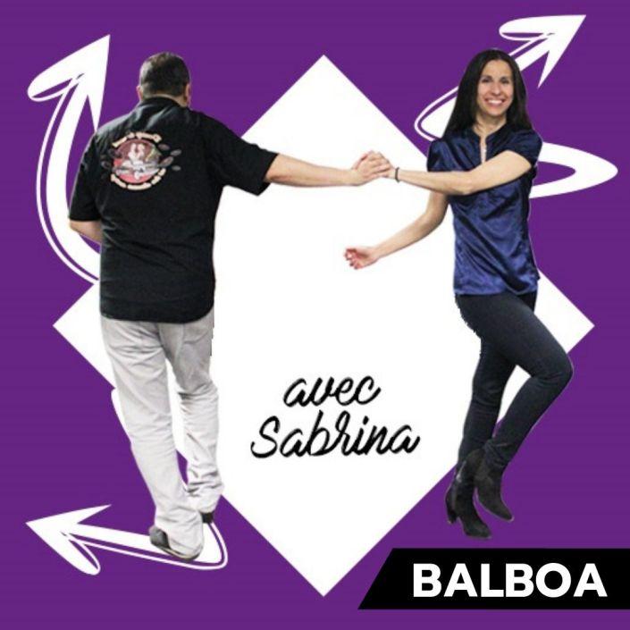 3step Cours de balboa pau lescar avec sabrina