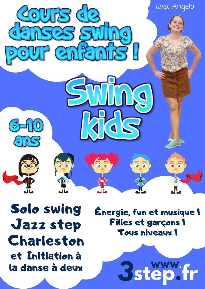 Cours de danse pour les enfants avec 3step et Angela