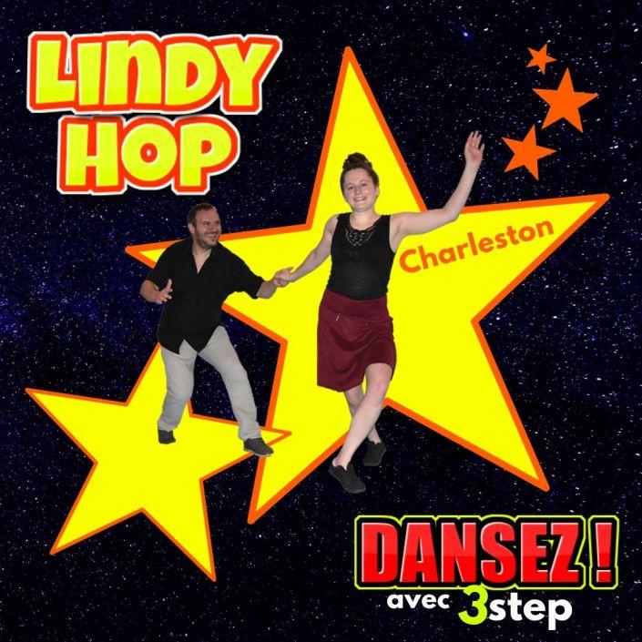 Lindy Hop avec Angela a Pau avec 3step