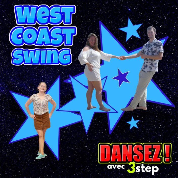 West Coast Swing a Pau avec 3step