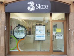 I negozi 3 Store a Busto Arsizio