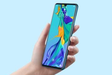 Huawei P30 Pro fronte