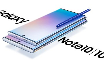 Samsung Galaxy Note10 e Note10+