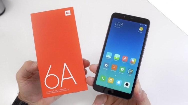 Xiaomi Redmi 6A, scatola originale