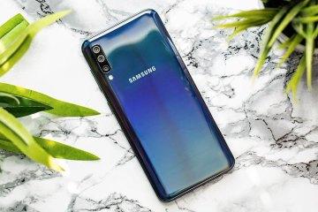 Samsung A50, immagine del retro