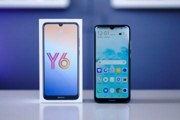 Huawei Y6 2019 con scatola