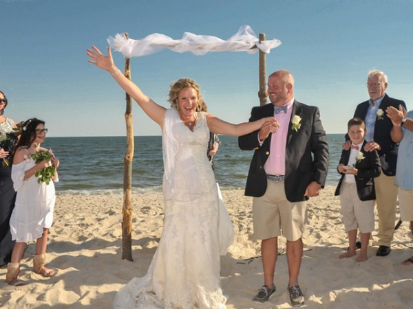 Weddings at Surfs Out Restaurant in Kismet Fire Island