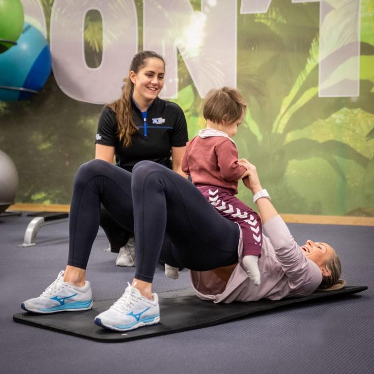 f64717eb Gjør som Ida og ta kontakt med en av våre personlige trenere. En personlig trener  kan gi deg tilpasset mor og barn trening ...