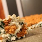Lasagna Rolls: 3ten.ca #lasagna #dinner