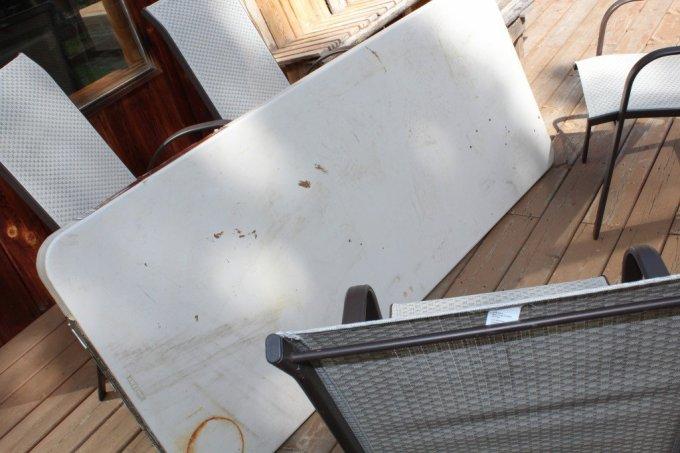 DIY Patio Table: 3ten.ca