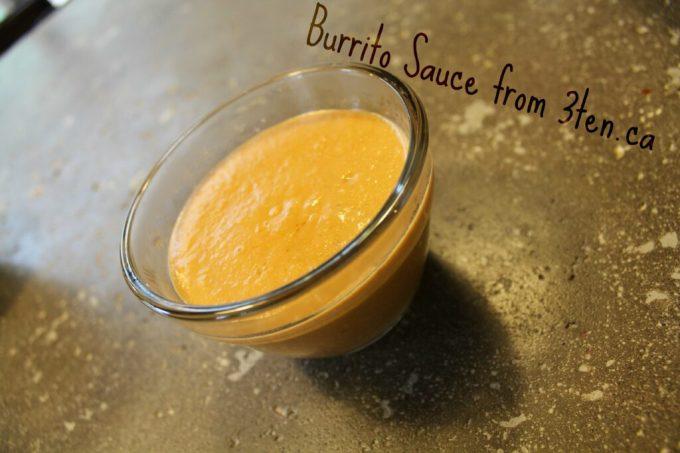 Burrito Sauce: 3ten.ca
