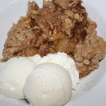 Apple Crumble: 3ten.ca #dessert