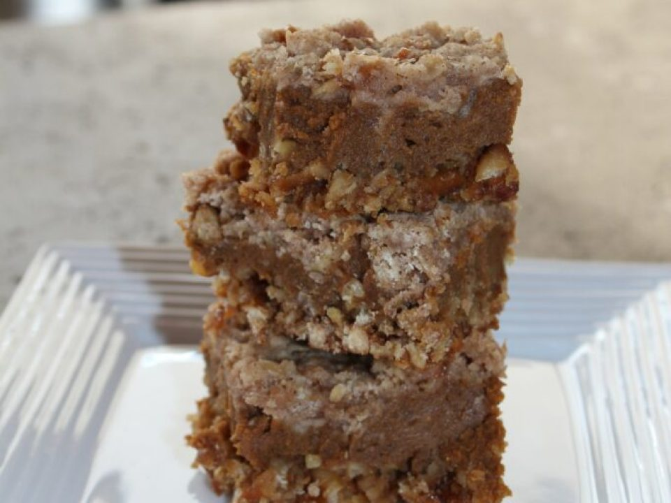Pumpkin Spiced Bars: 3ten.ca