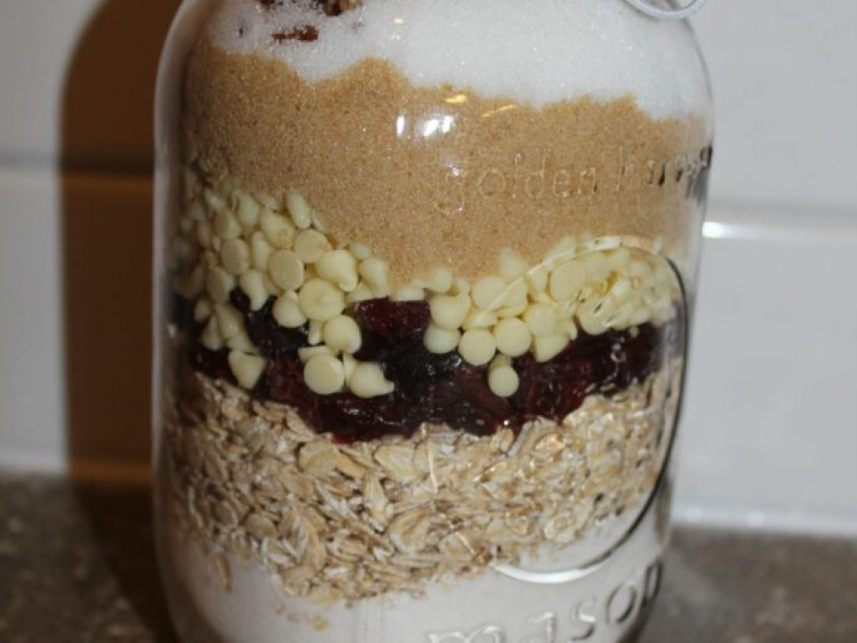 Mason Jar Cookies: 3ten.ca