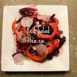 Red Salad: 3ten.ca #beets #salad