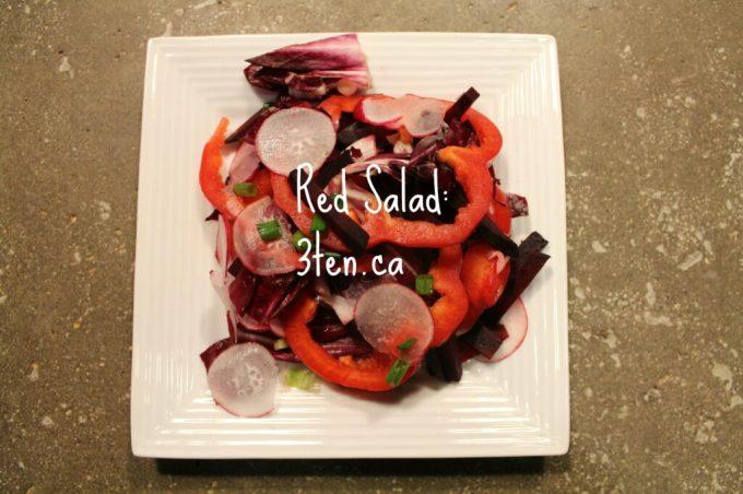 Red Salad: 3ten.ca #salad