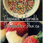 Chocolate Covered Strawberries: 3ten.ca #strawberries #chocolate