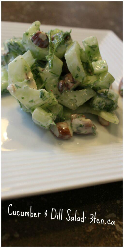 Cucumber and Dill Salad: 3ten.ca
