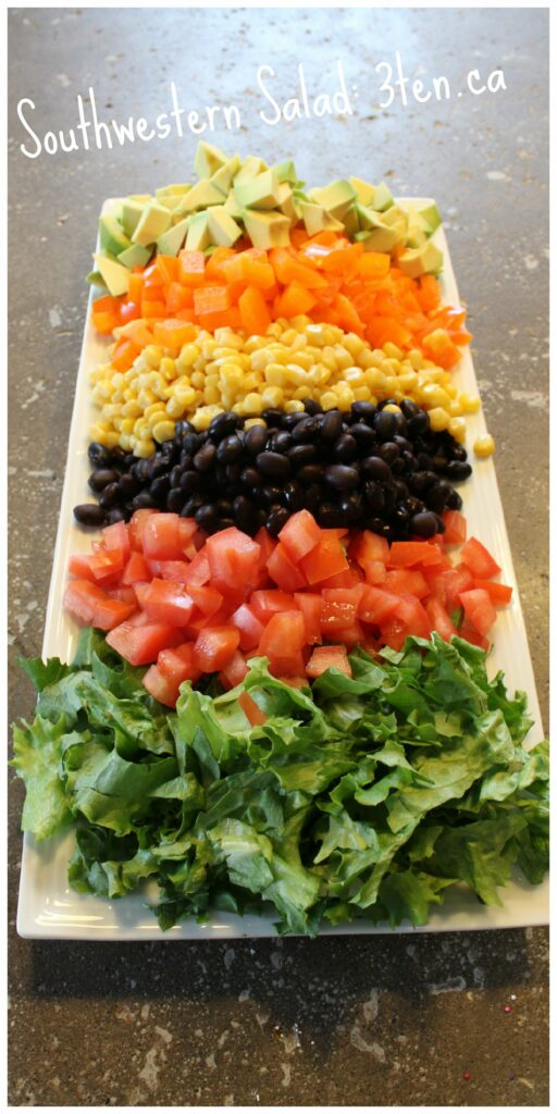 Southwestern Salad: 3ten.ca