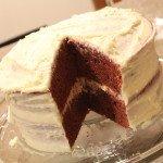 Natural Red Velvet Cake: 3ten.ca #redvelvet #natural