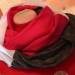 Colour Block Infinity Scarf: 3ten.ca