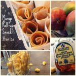 Mango Roll Up: 3ten.ca #mango #eathealthy #snack
