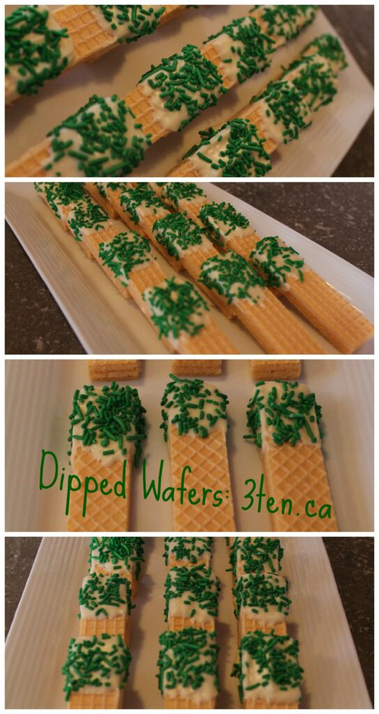 Dipped Wafers: 3ten.ca #celebrate #party
