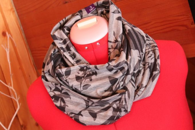 Giveaway Results! Infinity Scarf and Headband: 3ten.ca #sewing #diy