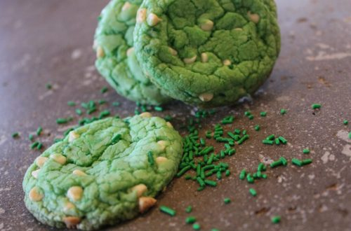 Green Velvet Cookies: 3ten.ca