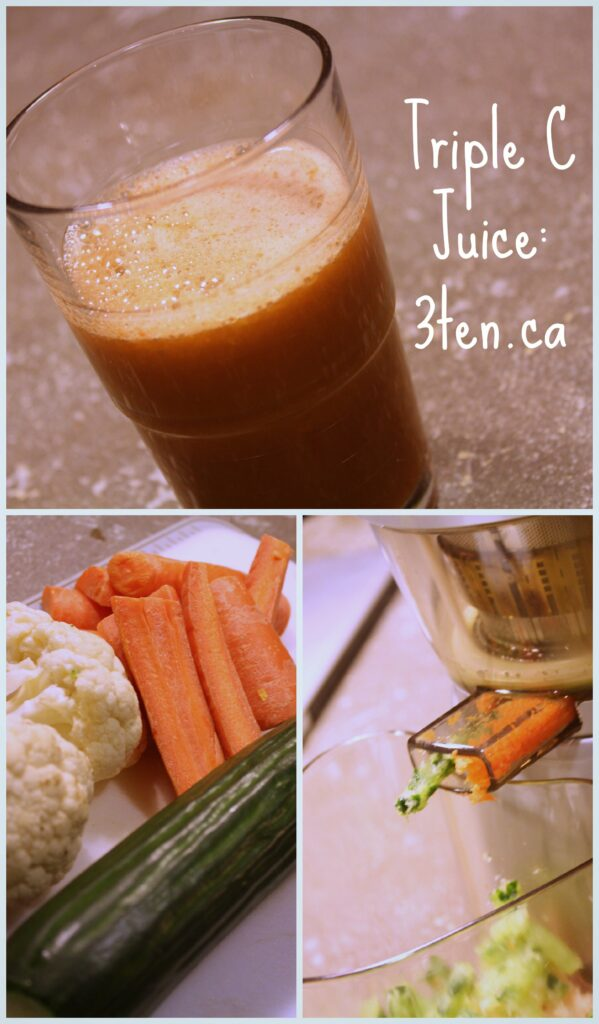 Tripple C Juice: 3ten.ca #12daysofjuice #juice #juicing