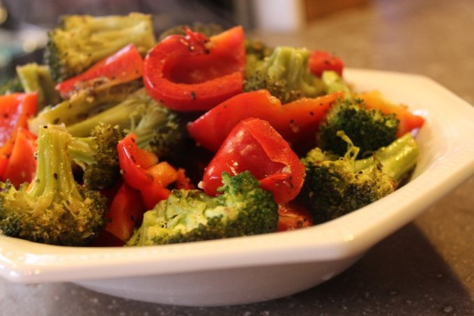 Roasted Veg: 3ten.ca #summer #dinner #eathealthy