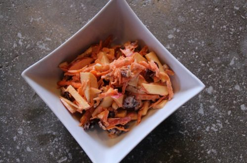 Carrot and Apple Slaw: 3ten.ca